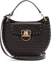 Balmain 44-33 quilted-leather shoulder bag