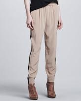 Emilia Elastic-Waist Pants