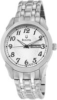 Bulova Men's and Dial Bracelet Watch 96C103