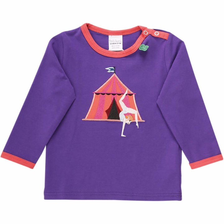 Fred's World by Green Cotton Baby Girls' Circus Acrobat T Shirt