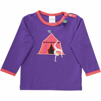 Green Cotton Fred's World by Baby Girls' Circus Acrobat T Shirt