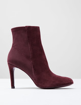 Boden Suede Stretch Ankle Boot
