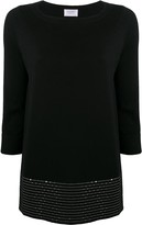 Thumbnail for your product : Snobby Sheep Sequin-Embellished Knitted Top