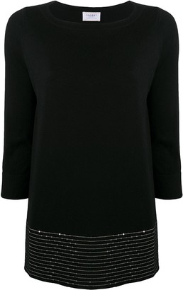 Snobby Sheep Sequin-Embellished Knitted Top
