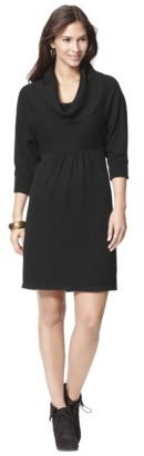 Mossimo Petites Cowl-Neck Sweater Dress - Assorted Colors