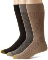 Gold Toe Men's Microfiber Fashion 3 Pack Sock