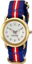 Sperry Women's 10014924 Hayden Analog Display Japanese Quartz Blue Watch