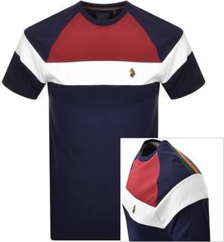Luke 1977 Teedam Logo T Shirt Navy