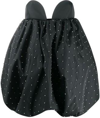 Giuseppe di Morabito Embellished Mini Puff Dress