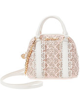 Betsey Johnson Chic Frills Dome Satchel