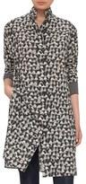 Akris Women's Bag Print Silk Jersey Dress
