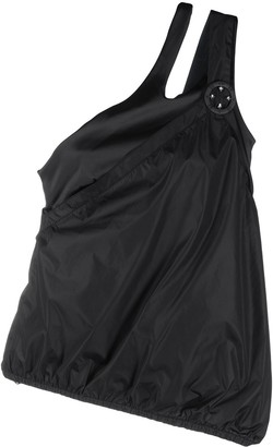 NO KA 'OI Duration one-shoulder drawstring top