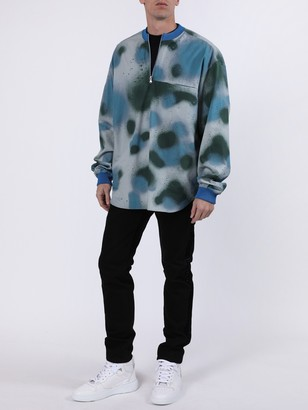 Artica Arbox Splatter Print Long Sleeve Shirt