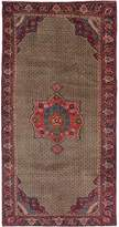"Ecarpetgallery One-of-a-Kind Koliai Hand-Knotted Runner 4'6"" x 9'1"" Wool Tan Area Rug"