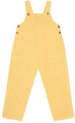 Caramel Hampstead cotton-denim overalls