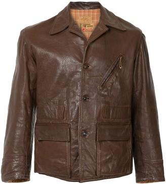 Fake Alpha Vintage 1940s leather jacket
