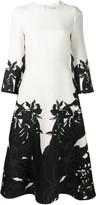 Valentino Orchid Ramage print dress