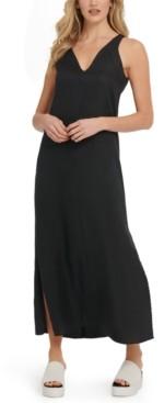 DKNY Linen Maxi Dress