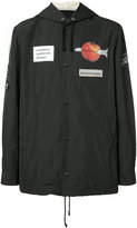 Undercover patch bomber jacket - men - Polyester - 2