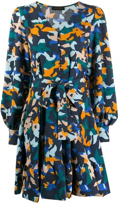 Stine Goya Farrow printed mini dress