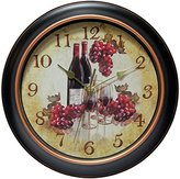 Infinity Instruments Pinot 12 inch Silent Sweep Wall Clock
