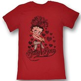 Betty Boop Womens Chillin' T-Shirt In