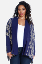 Fashion to Figure Sonora Geometric Cardigan