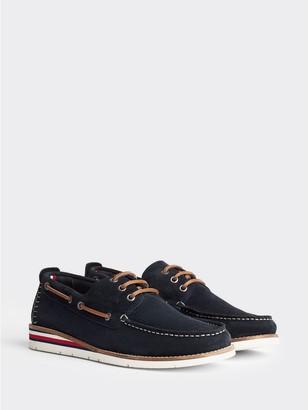 Tommy Hilfiger Suede Boat Shoe