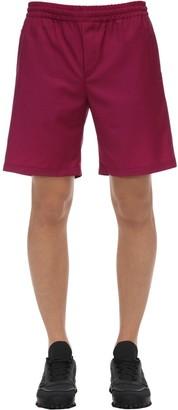 MSGM Virgin Wool Shorts