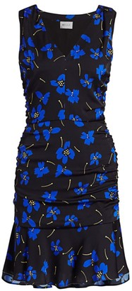 Milly Butterfly Flower Sleeveless Dress