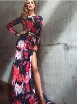 GUESS Printed Maxi Dress