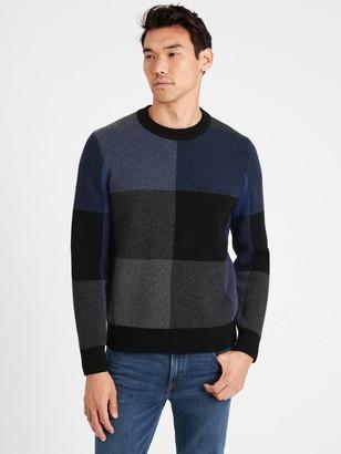 Banana Republic Buffalo Check Sweater