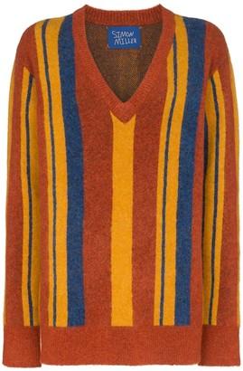 Simon Miller stripe V-neck jumper