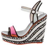 Sophia Webster Woven Wedge Sandals