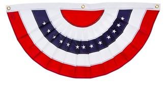Patriotic Bunting Medium Garden Flag