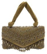 Dries Van Noten Velvet Embellished Bag