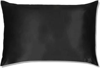 Slip Silk Pillowcase King (Various Colours) - Black