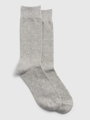Gap Pattern Crew Socks