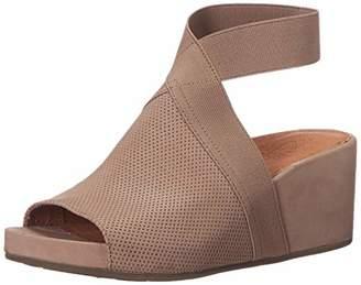 Gentle Souls Women's Gisele 65 Elastic Wedge Sandal