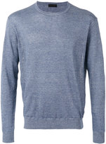 Z Zegna crewneck sweater - men - Cotton/Linen/Flax - M