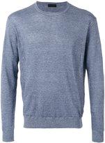 Z Zegna crewneck sweater - men - Linen/Flax/Cotton - S