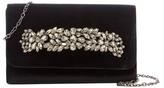 Sondra Roberts Velvet Jeweled Handle Clutch