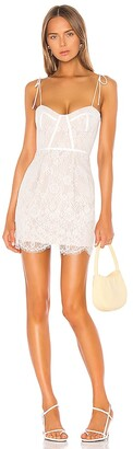 superdown Lottie Lace Bustier Dress