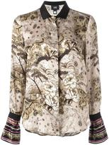 Class Roberto Cavalli 'Cartone' shirt - women - Silk - 42