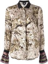 Class Roberto Cavalli 'Cartone' shirt