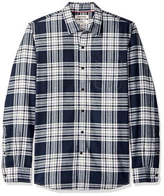 Goodthreads Slim-fit Long-sleeve Brushed Flannel Shirt,US (EU )
