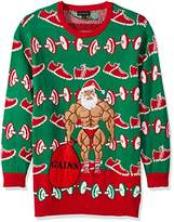 Blizzard Bay Men's Big and Tall Xmas-Fitness Ugly Christmas Sweater