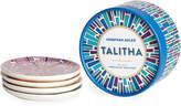 Jonathan Adler Talitha Porcelain Coasters, Set of 4