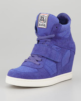 Ash Cool Lace-Up Hidden Wedge Sneaker