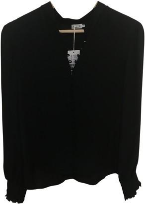 Filippa K Black Silk Top for Women